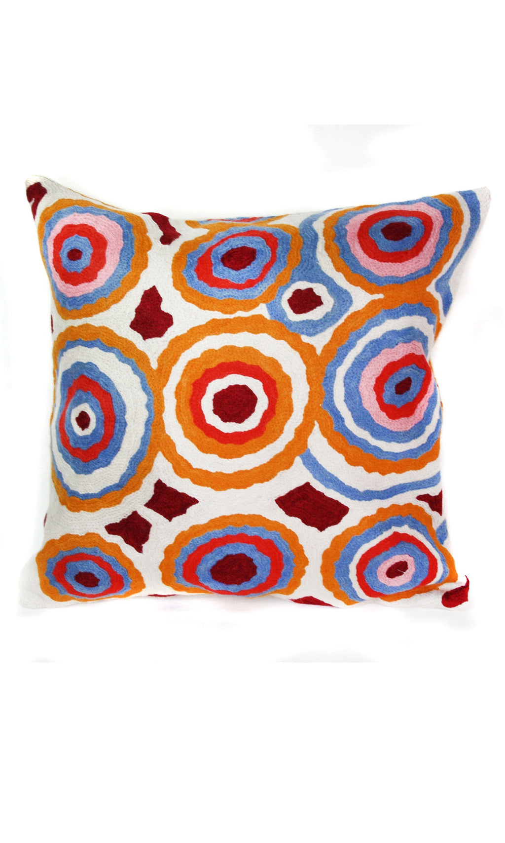 Aboriginal Art Cushion Cover by Rama Kaltu Kaltu Sampson (3)