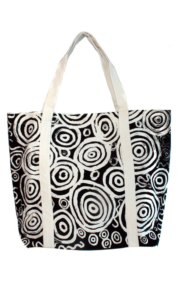 Canvas Big Tote Bag by Nelly Paterson