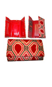 Aboriginal Art Wallet Medium Iwantja  Scarlett