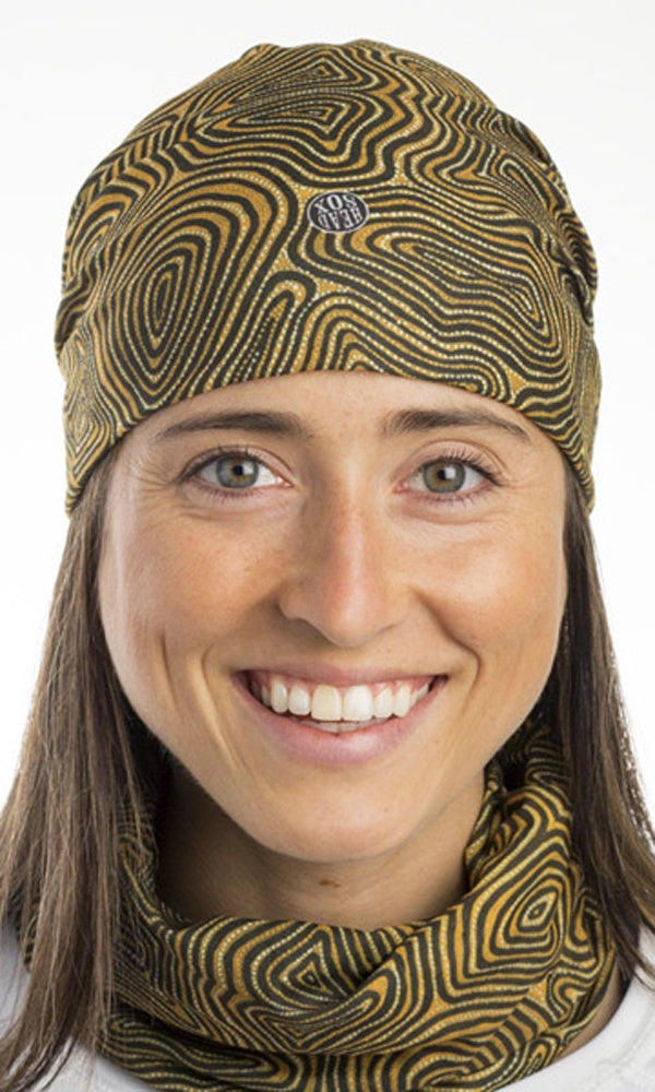 Aboriginal Art Headsox My Country