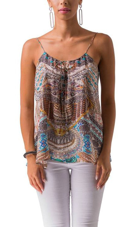 Silk Cami Top Sierra