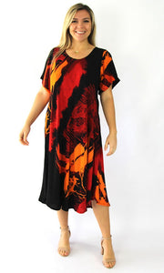 Rayon Dress Newport Modem, More Colours