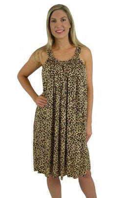 Rayon Dress Magnum Short Baby Cheetah, More Colours