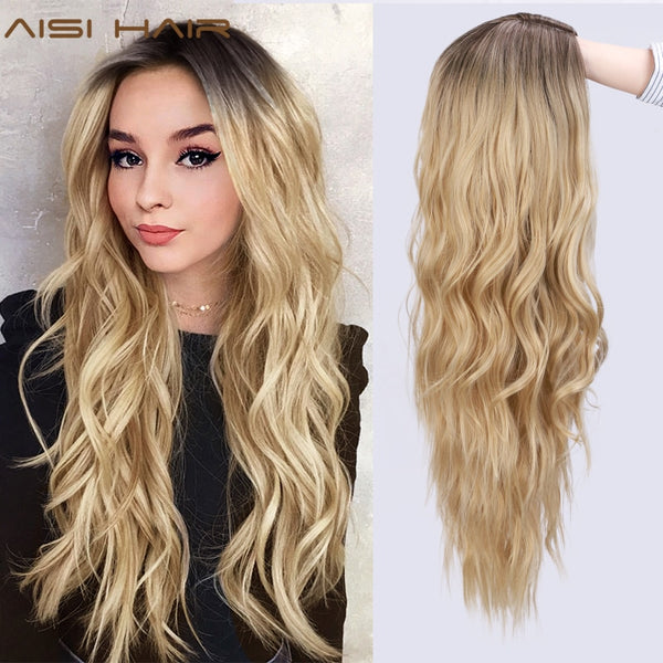 SYNTHETIC BLONDE WIG