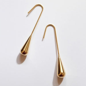 Minimalist Water Drop Earrings