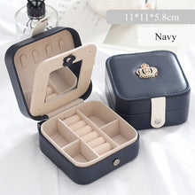 Load image into Gallery viewer, Travel PU Leather Jewelry Box