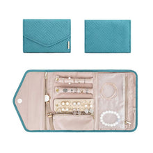 Load image into Gallery viewer, Travel Foldable Jewelry Organizer Case