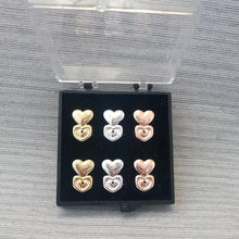 Load image into Gallery viewer, 3 pair of 925 sterling silver earring Back Lifters
