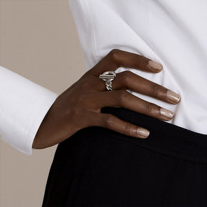 Hollowed Thick Chunky Statement Ring