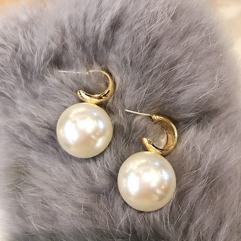 Big Statement Pearl Earrings