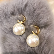 Load image into Gallery viewer, Big Statement Pearl Earrings