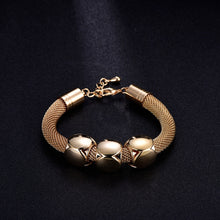 Load image into Gallery viewer, Square Bead Big Thick Chain Bracelet