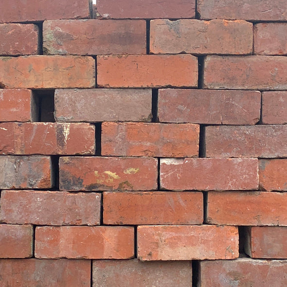 73mm Red Imperial Reclaimed Bricks | Pack of 250 Bricks