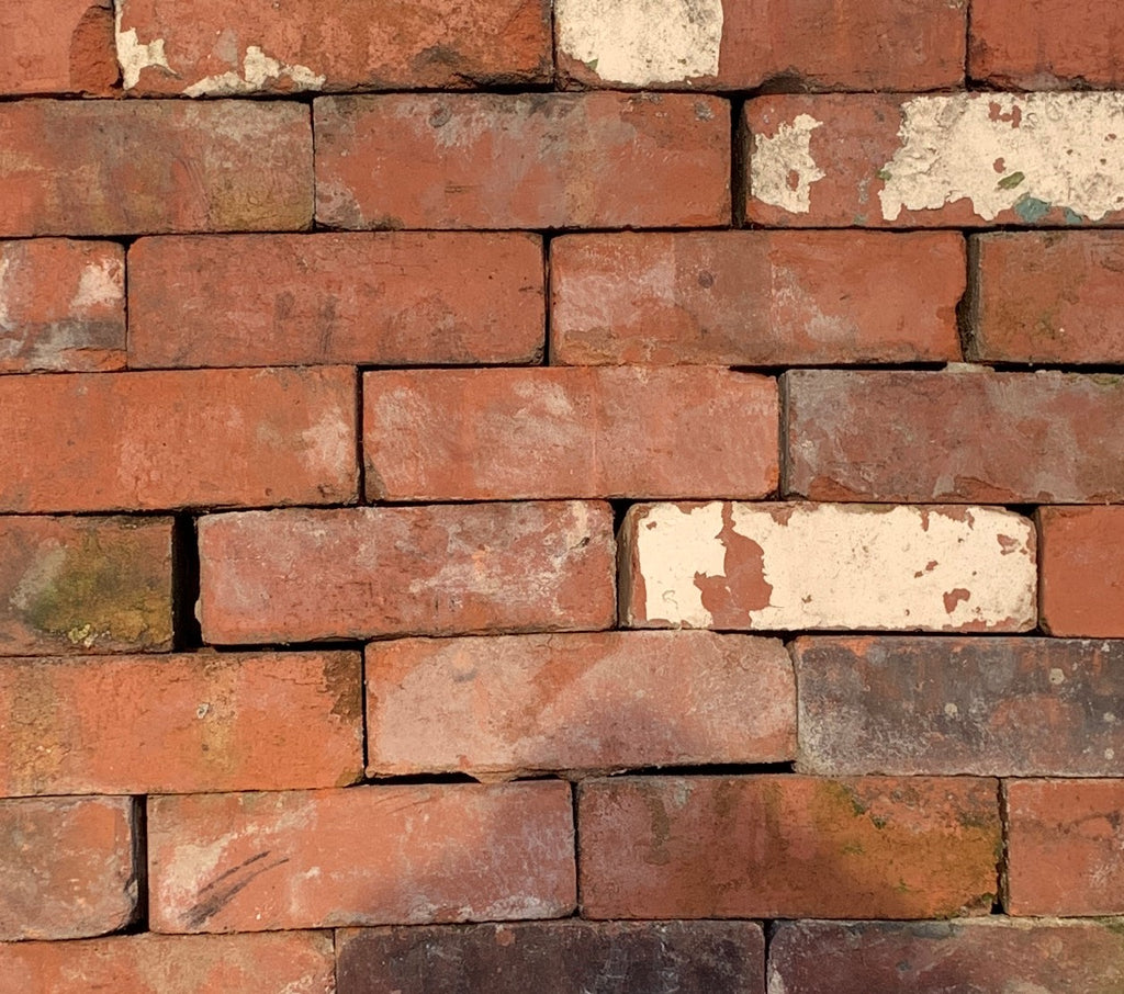 75mm Heritage Red Imperial Reclaimed Bricks | Pack of 250 Bricks