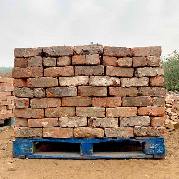 Handmade Wire Cut Imperial Reclaimed Bricks | Pack of 250 Bricks