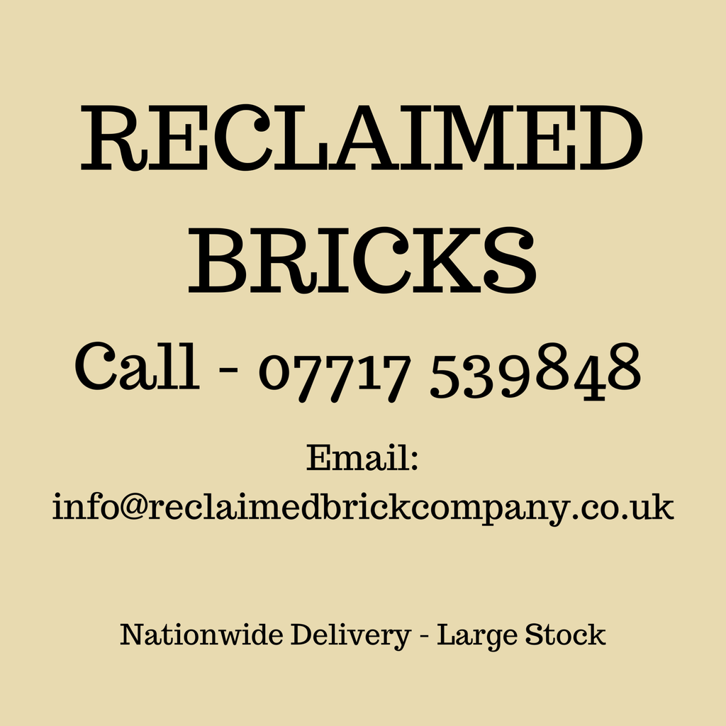Farmhouse Wire Cut Imperial Reclaimed Bricks | Pack of 250 Bricks
