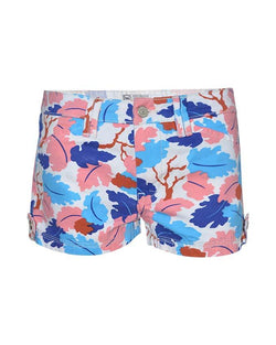 Women's  Floral Shorts Pants - Nobody Jeans