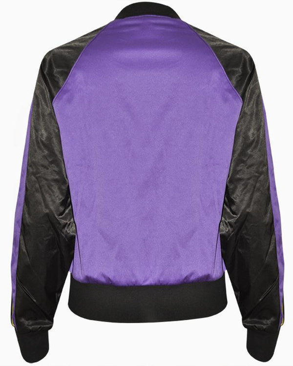 Women's Long Sleeve Bomber Jacket - Nobody Jeans