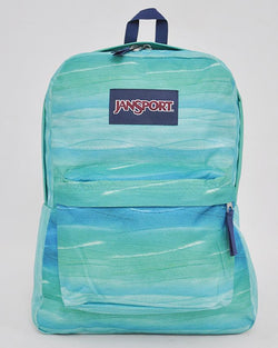 "JanSport T501 SuperBreak 100% Authentic School Backpack 17""H x 13""L x 7""W_OCEAN OMBRE"