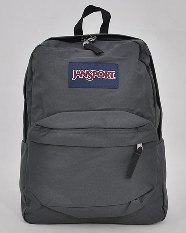 "JanSport T501 SuperBreak 100% Authentic School Backpack 17""H x 13""L x 7""W_FORGE GRY"