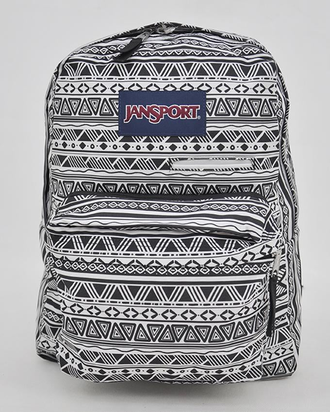 JANSPORT DIGIBREAK DIGITAL SUPERBREAK Laptop Student Backpack book bag Tablet_BK/WT JAZZY GEO
