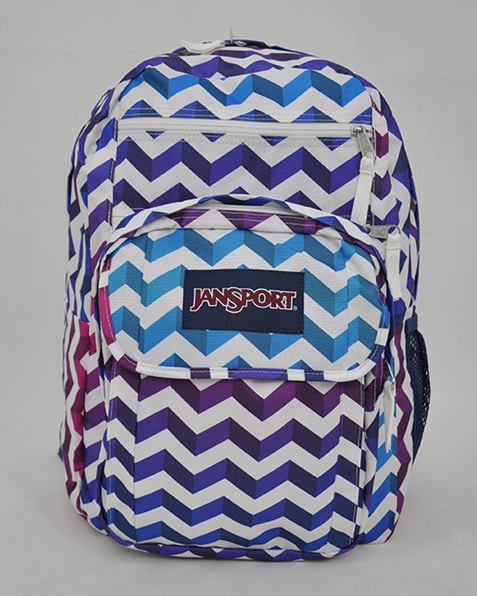 JanSport Digital Student Backpack School Bag_SHADOW CHEVRON
