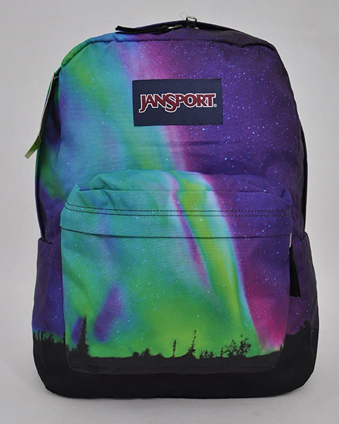 JanSport JS00TRS7 Superbreak Backpack _NORTHERN LIGHTS