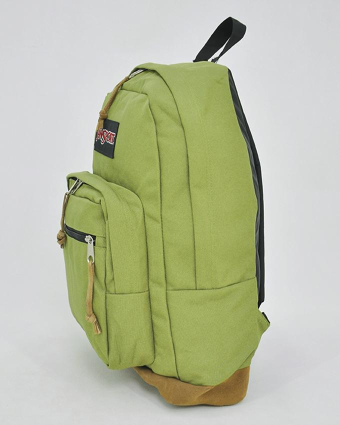 New Authentic Jansport Right Pack Backpack Student School Laptop Bag_OLIVE