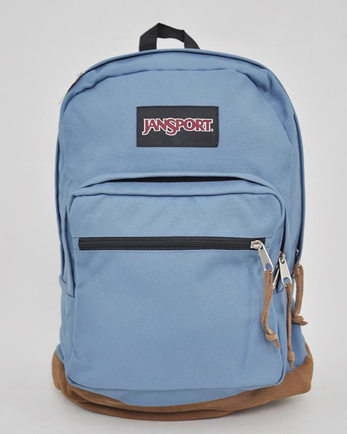 New Authentic Jansport Right Pack Backpack Student School Laptop Bag_CAPTAINS BLUE