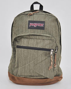 JanSport JS00TZR6 Women's Men's Right Pack Expressions Backpack 1900 Cu In/31 L_ARMYGREENMELANGE
