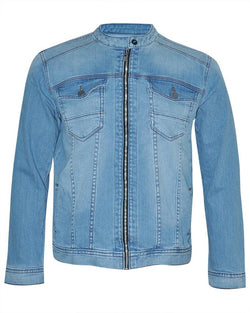 Men's Long Sleeve Zipper Jacket - Nobody Jeans