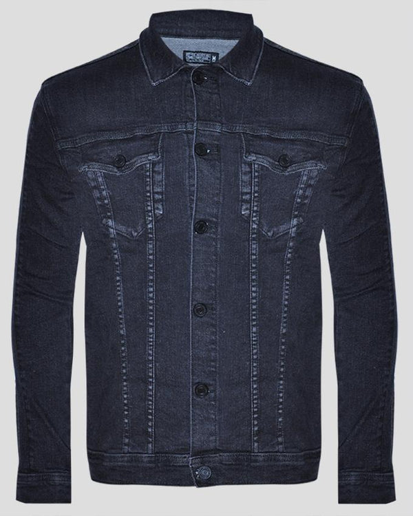 Men's Long Sleeve Trucker Jacket - Nobody Jeans