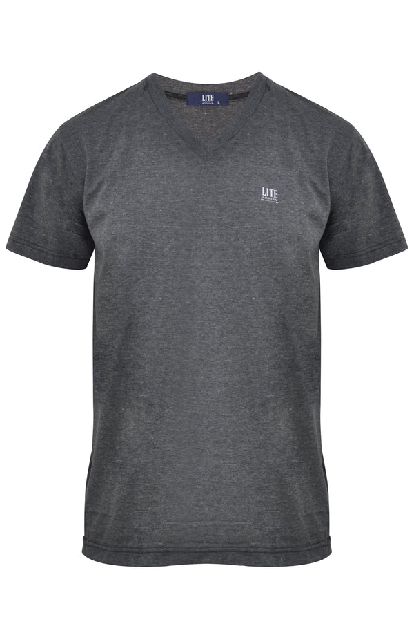 V-Neck T-Shirt,ZU401BLC,Arrow Lite