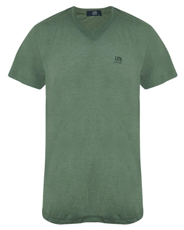 V-Neck T-Shirt,ZU401GRC,Arrow Lite