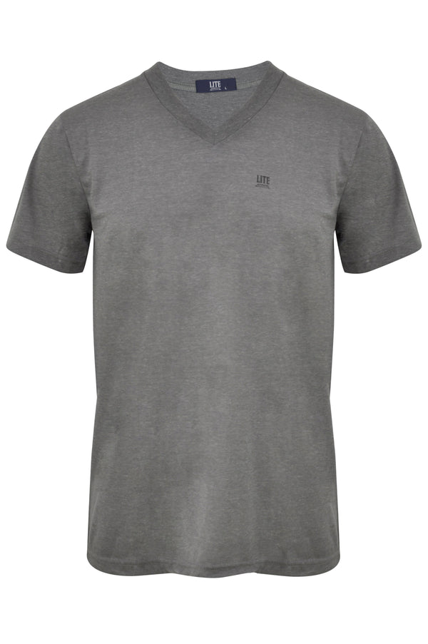 V-Neck T-Shirt,ZU401GYC,Arrow Lite