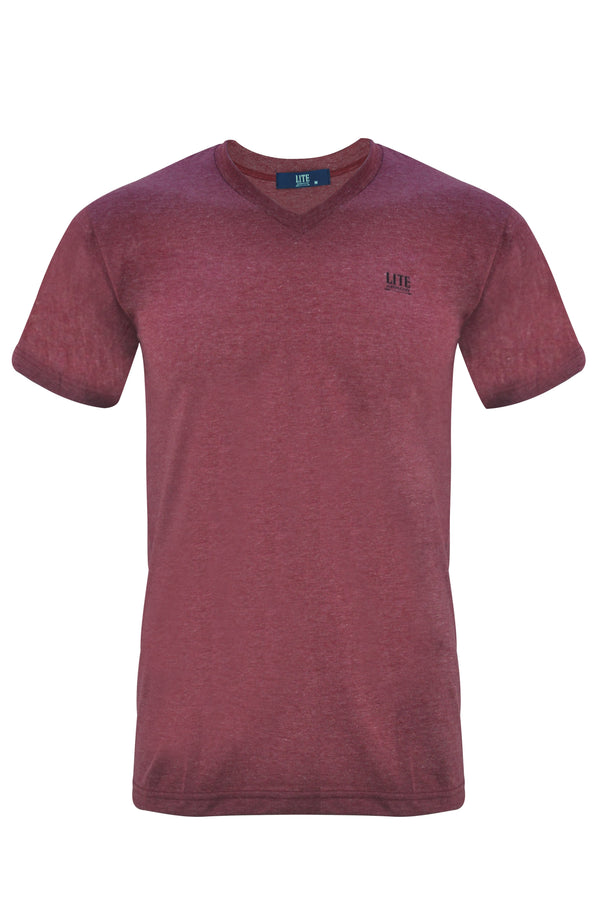 V-Neck T-Shirt,ZU401MRC,Arrow Lite