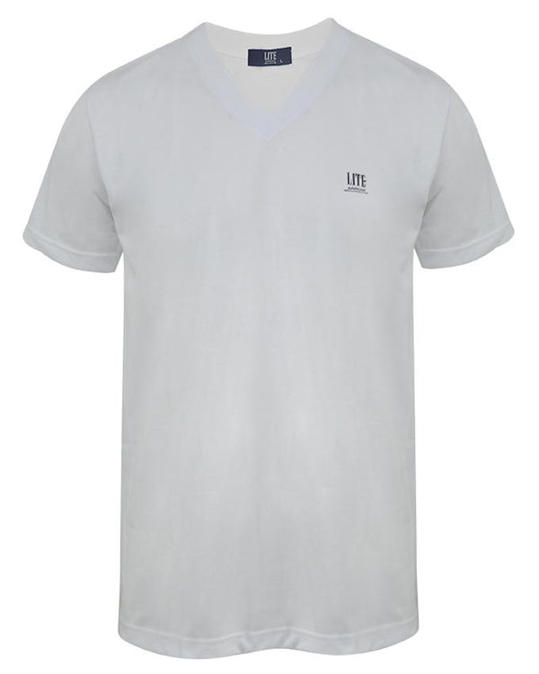 V-Neck T-Shirt,ZU401WHC,Arrow Lite