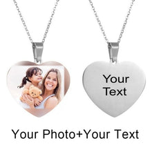 Load image into Gallery viewer, Picture Necklace Personalized