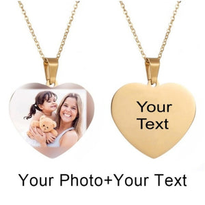Picture Necklace Personalized