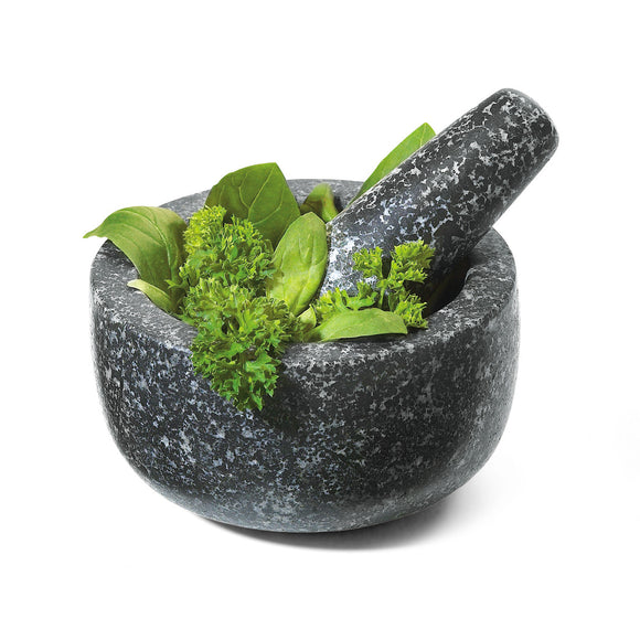 Granite mortar & pestle 5