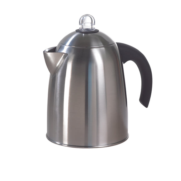 1.8L Stainless steel stovetop coffee percolator