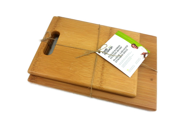 Fresco (Mark McEwan) bamboo cutting board set-2 pack