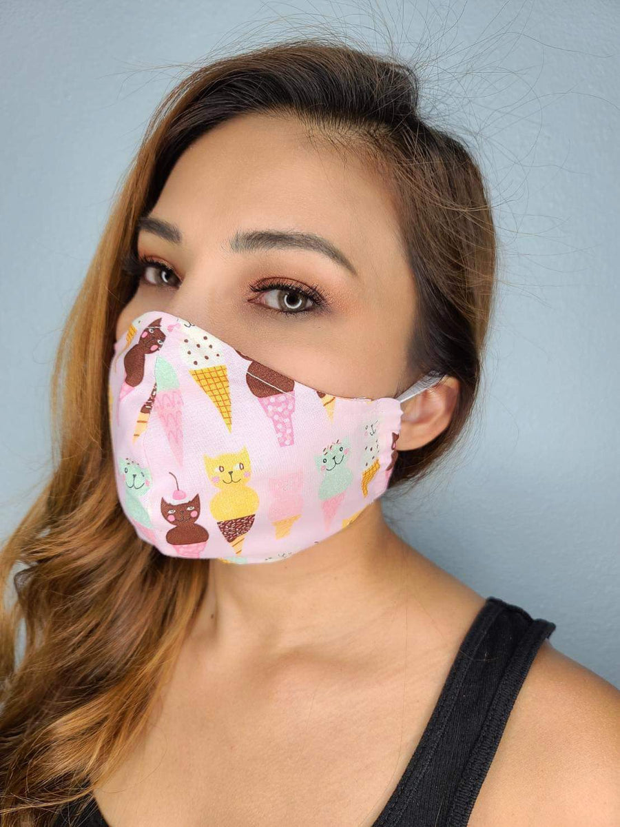 Ice cream face mask