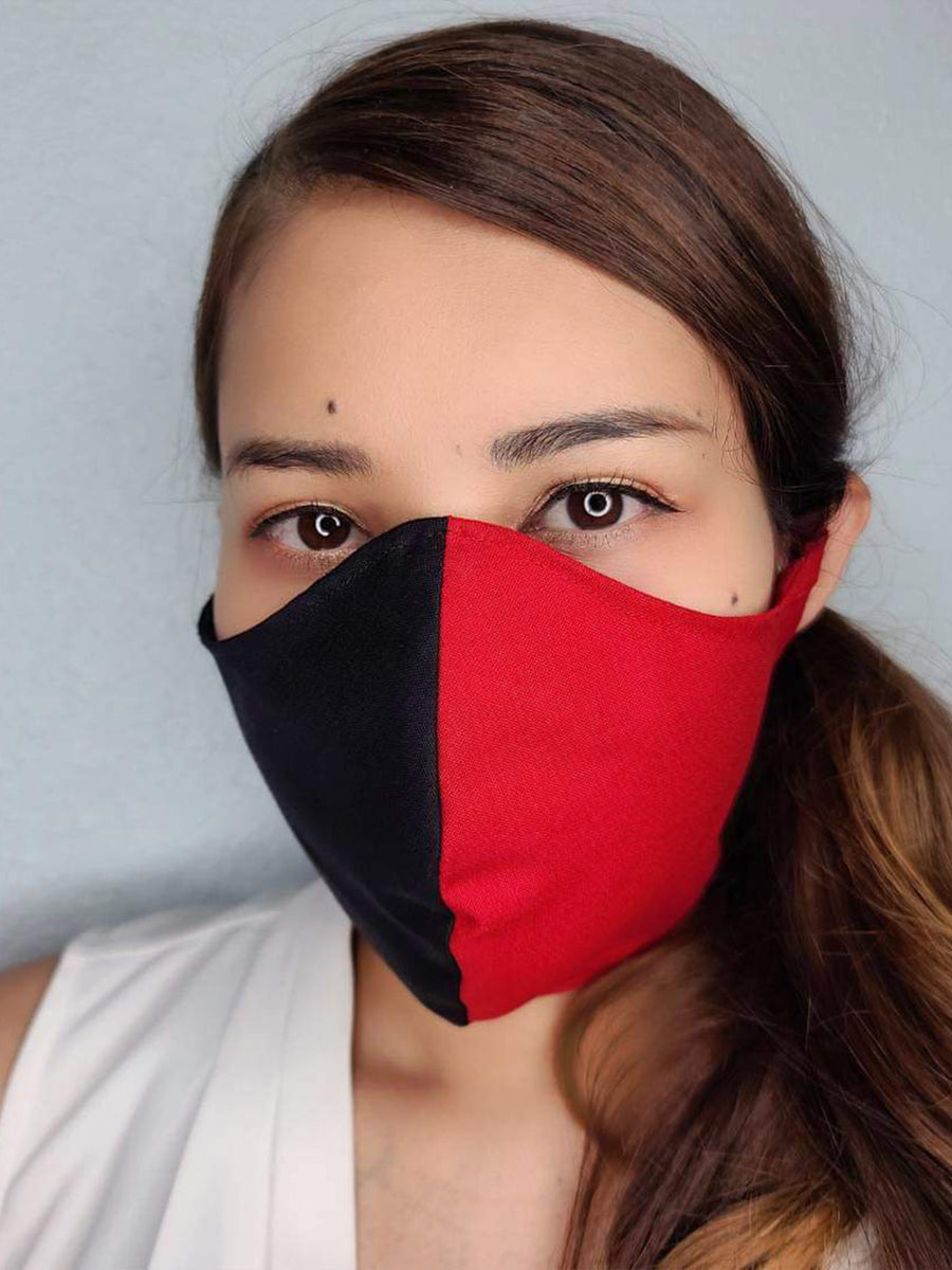 CUSTOM FACE MASK 100% COTTON THREE LAYER WITH POCKET HANDCRAFTED BY HOUSEWIVES FROM MY DESIGNS FLORIDA