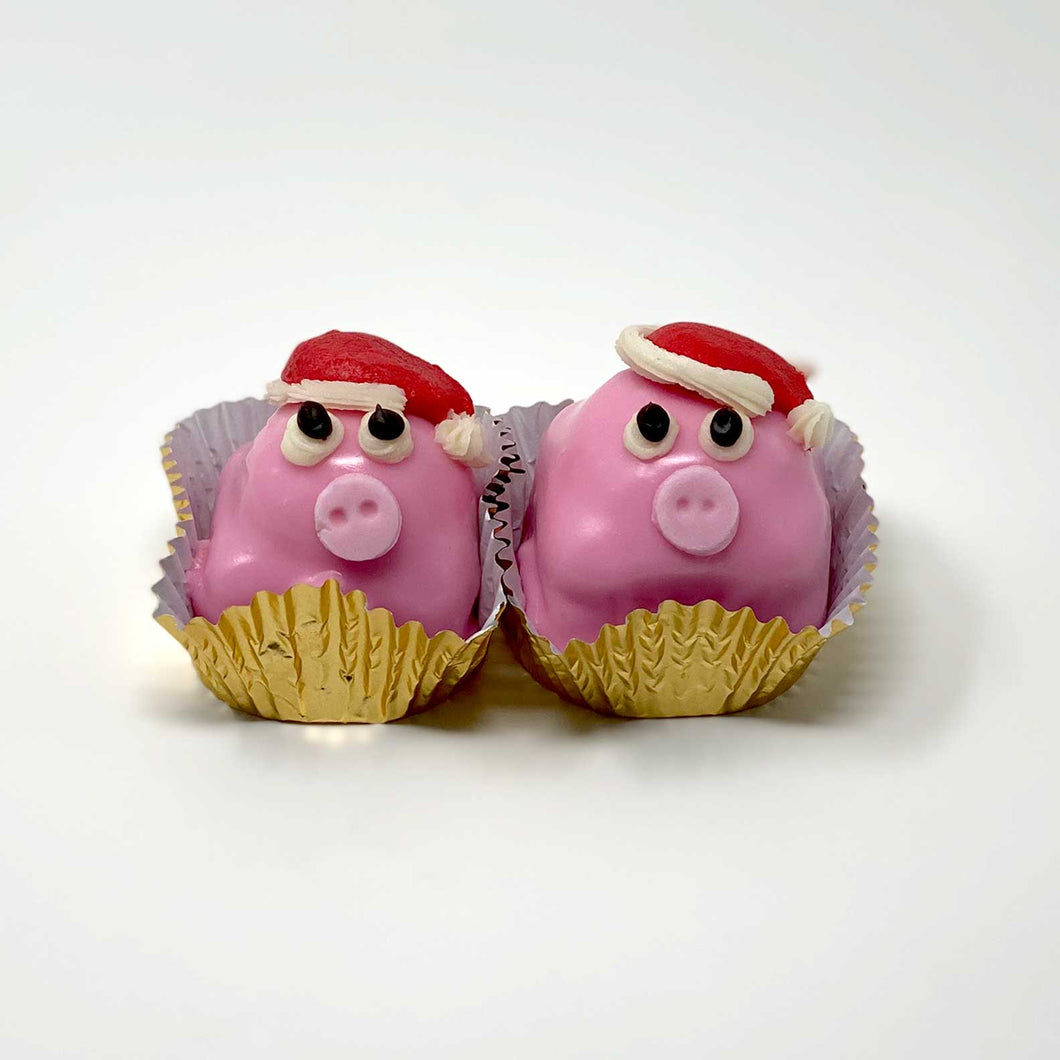 Christmas Piggy French Cake – 2 pack