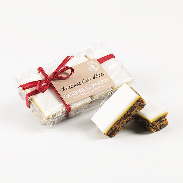 Christmas Cake Slices - Case of 8 packs