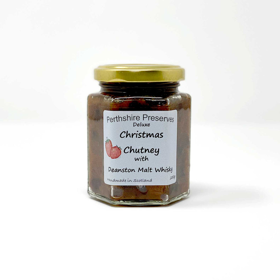 Christmas Chutney with Deanston Malt Whisky