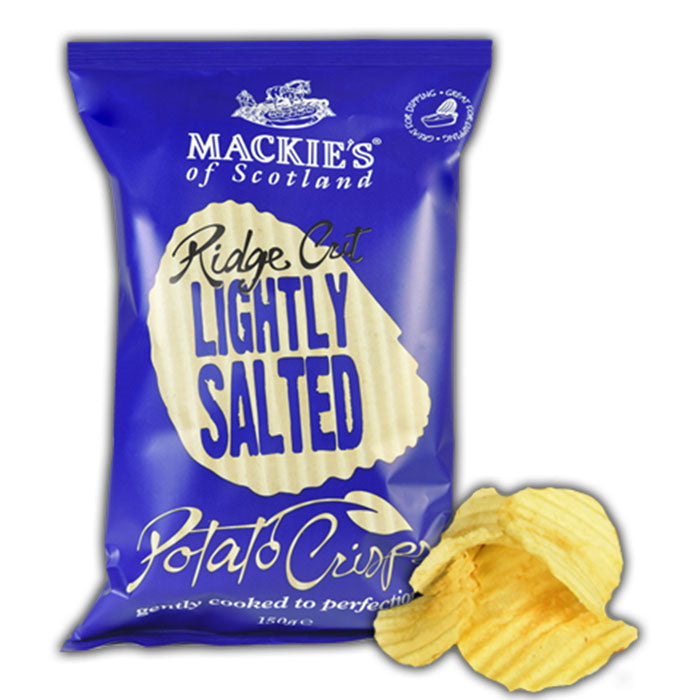Ridge Cut Crisps - Lightly Salted