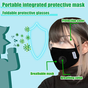 Sport Cover Face Protective Tool With Eyeshield
