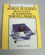 Load image into Gallery viewer, Robot Builder's Bonanza by Gordon McComb (1987, Paperback)
